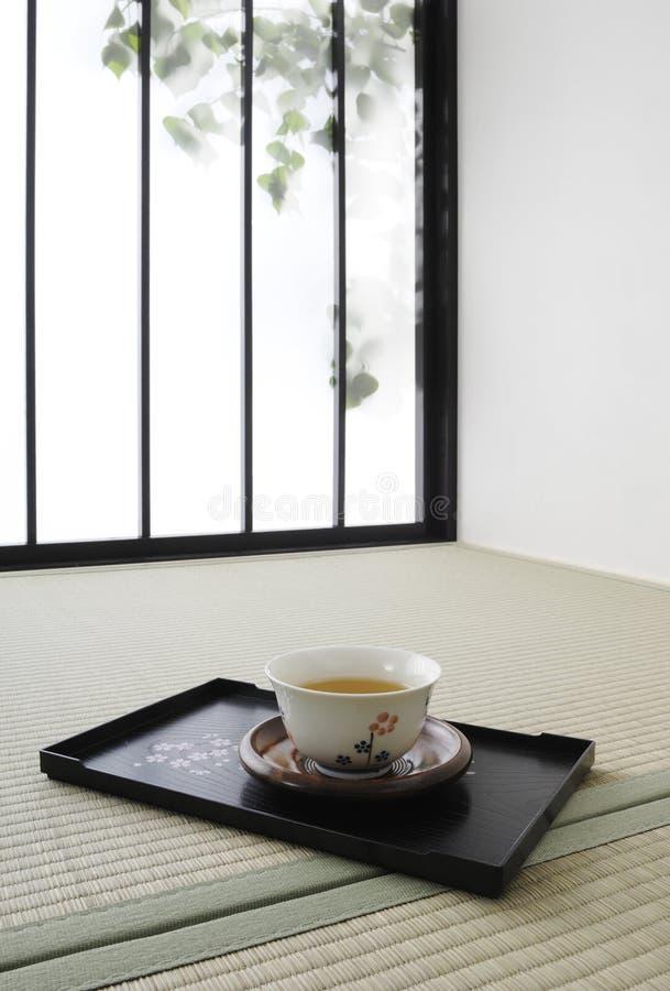 Tiempo japonés del té fotografía de archivo libre de regalías