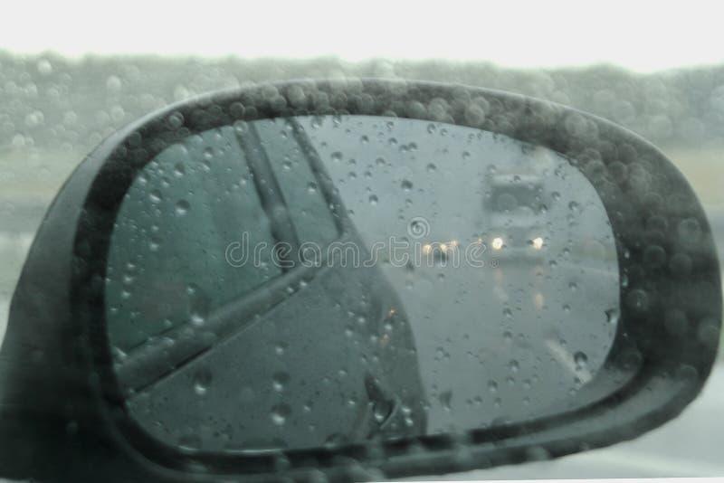 tiempo lluvioso de las condiciones meteorológicas imagen de archivo libre de regalías