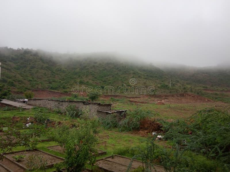 Tiempo natural en udaipur imagen de archivo