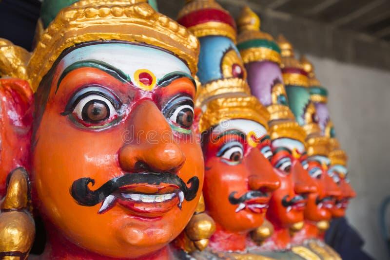 Tien leidden Ravana Vahana stock foto