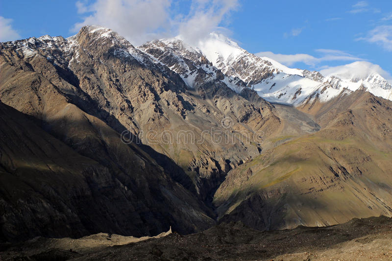 Kyrgyzstan - Central Tien Shan region. Tien Shan, is a large system of mountain ranges located in Central Asia royalty free stock images