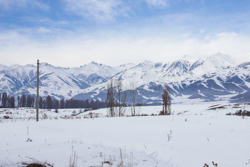 Tien Shan Mountains photos libres de droits