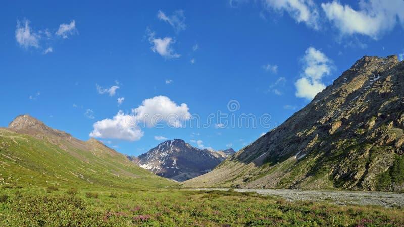 Tien Shan mountains in Kazakhstan royalty free stock photos