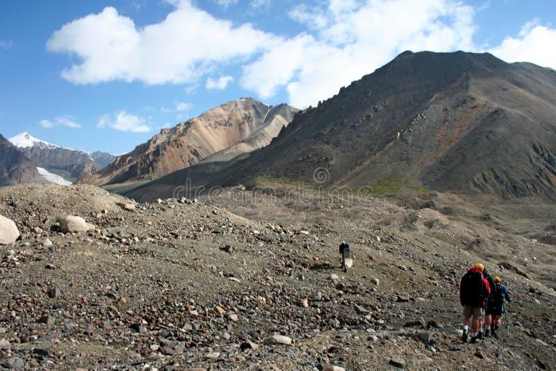 Tien Shan mountains, Kyrgyzstan. Central tien shan region, Ak-Shirak stock photography