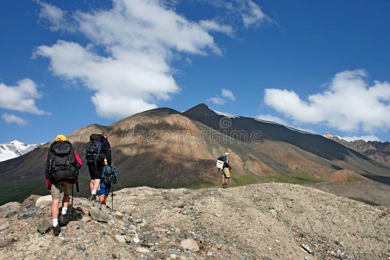 Tien Shan mountains, Kyrgyzstan. Central tien shan region, Ak-Shirak stock images