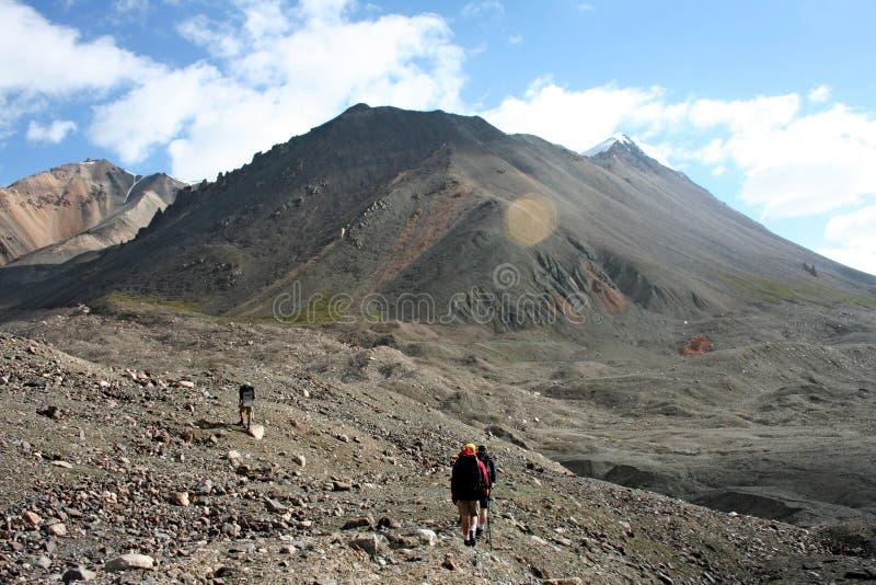 Tien Shan mountains, Kyrgyzstan. Central tien shan region, Ak-Shirak royalty free stock photography