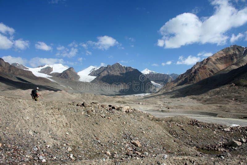 Tien Shan mountains, Kyrgyzstan. Central tien shan region, Ak-Shirak stock photos
