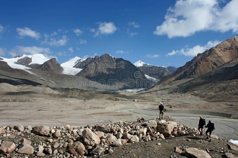 Tien Shan mountains, Kyrgyzstan. Central tien shan region, Ak-Shirak royalty free stock photos