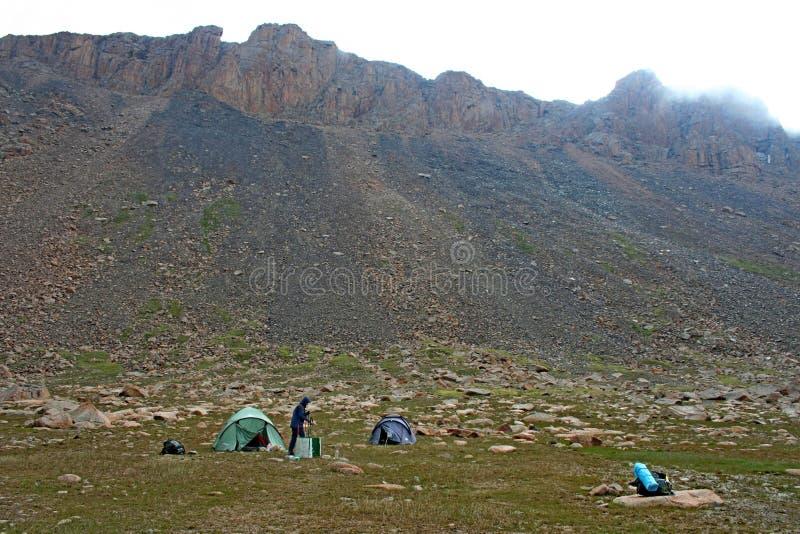 Tien Shan mountains, Kyrgyzstan. Central tien shan region, Ashukashka Suu valley stock images