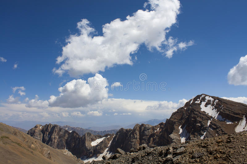 Tien Shan occidentale fotografia stock