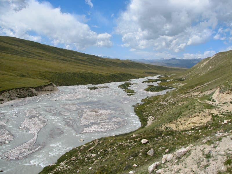 Tien- Shanlandschaft 02 stockbild