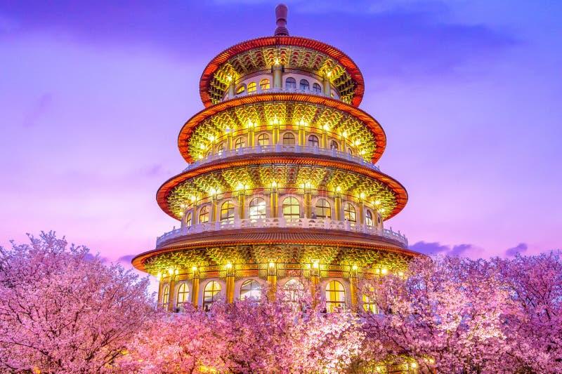 Tien-Yuan tempel royaltyfria foton