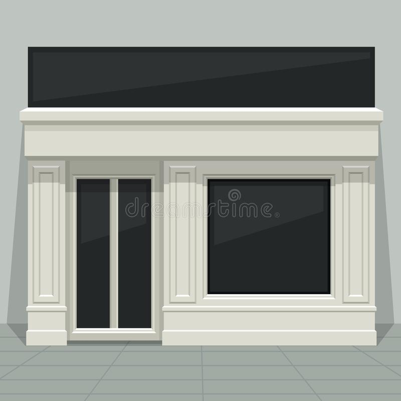 Tienda, Tienda, Boutique Con Las Ventanas De Cristal Y Puertas De La ...