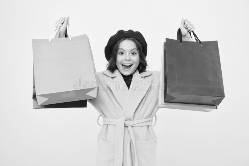 Tienda con la tarjeta del descuento Consiga las compras del descuento el cumplea?os o d?a de fiesta El fashionista adora el hacer fotografía de archivo