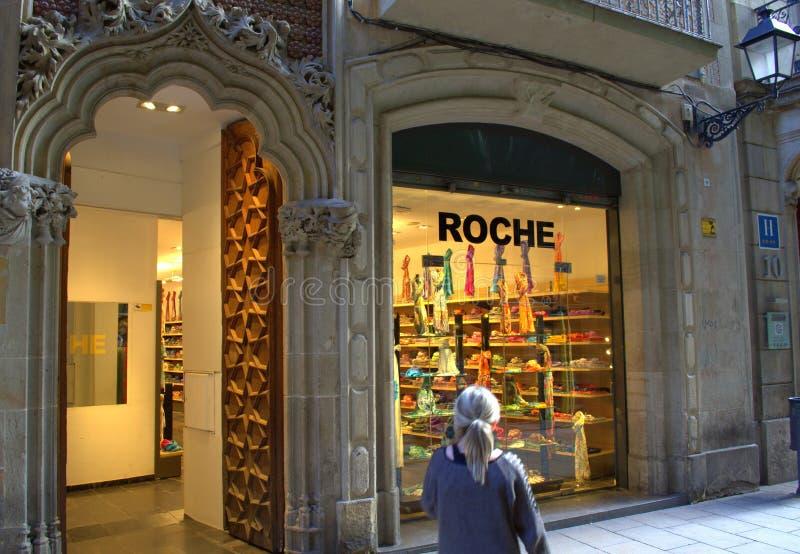 Tienda cuarta gótica, Barcelona fotos de archivo libres de regalías