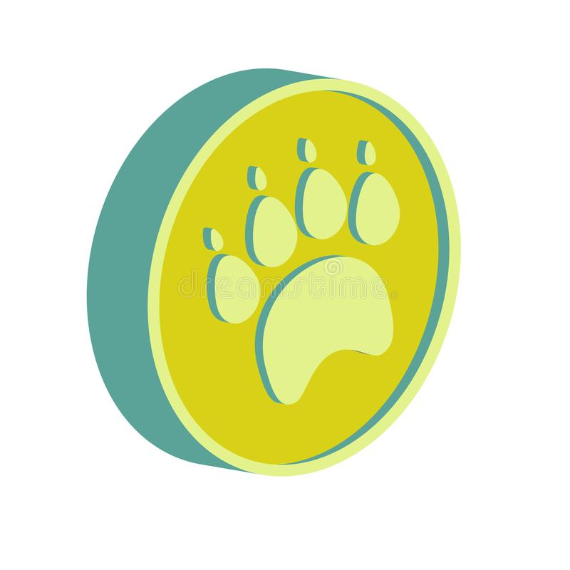 Tienda de animales del icono plano libre illustration