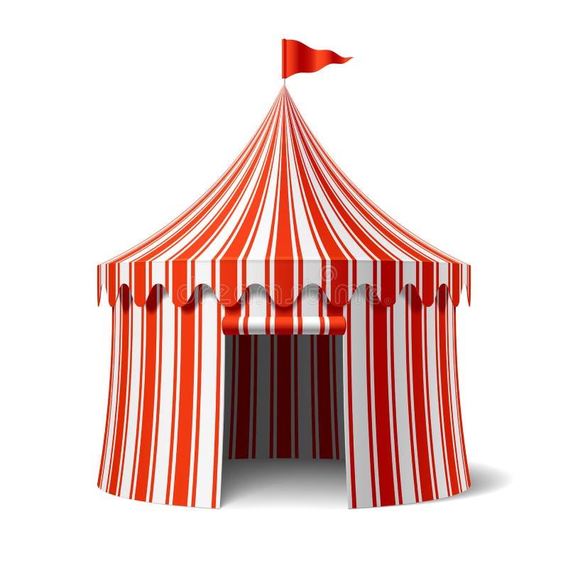 Tienda de circo stock de ilustración