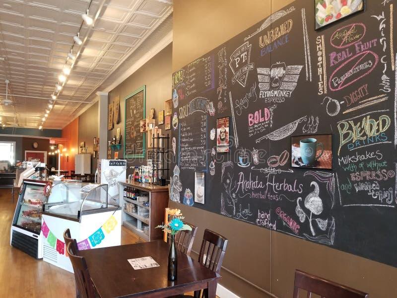 Tienda de Coffe fotos de archivo libres de regalías