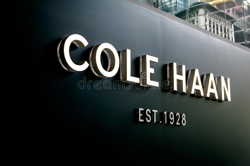 Tienda de Cole Haan imagen de archivo libre de regalías