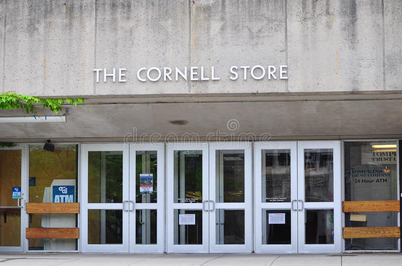 Tienda de Cornell University imagen de archivo