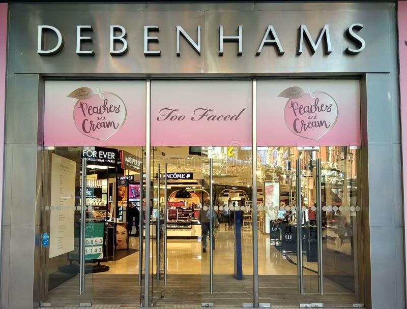 Tienda de Debenhams en Dublín fotografía de archivo