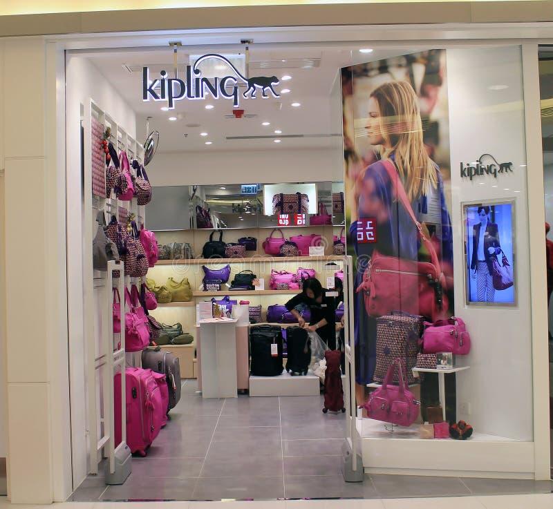 Tienda de Kipling en Hong-Kong imagen de archivo libre de regalías