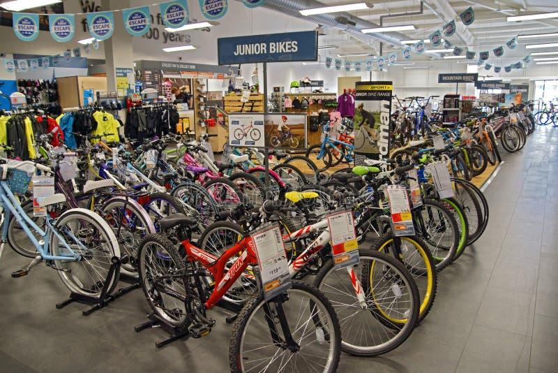 Tienda de la bici foto de archivo libre de regalías