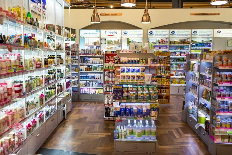 Tienda de la farmacia foto de archivo libre de regalías