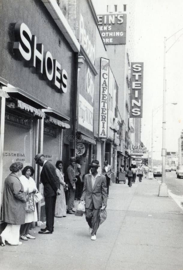 Tienda de la ropa de Stein Charlotte, Carolina del Norte fotografía de archivo