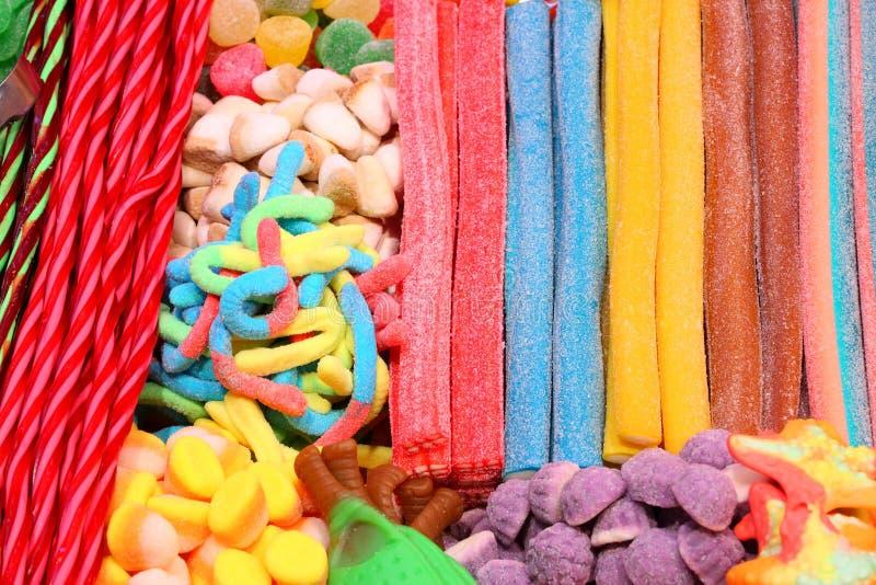 Tienda de los dulces imagen de archivo