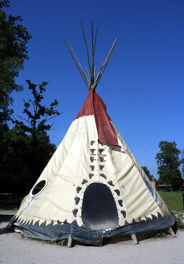 Tienda de los indios norteamericanos fotografía de archivo libre de regalías
