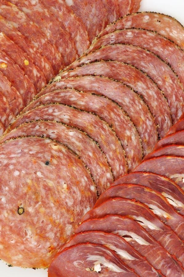 Tienda de platos preparados de la carne fotografía de archivo