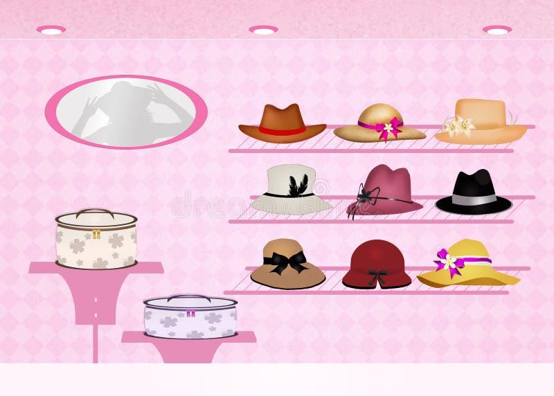 Tienda de sombreros libre illustration