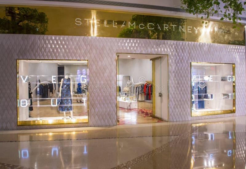 Tienda de Stella McCartney imagen de archivo libre de regalías