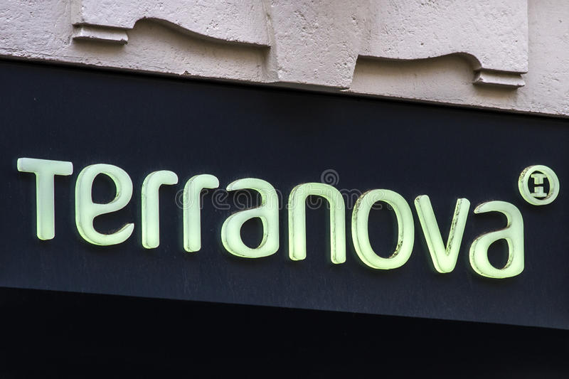 Tienda de Terranova fotografía de archivo