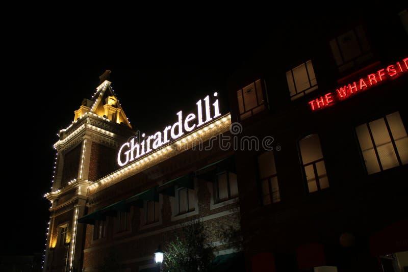 Tienda del chocolate de Ghirardelli fotos de archivo libres de regalías