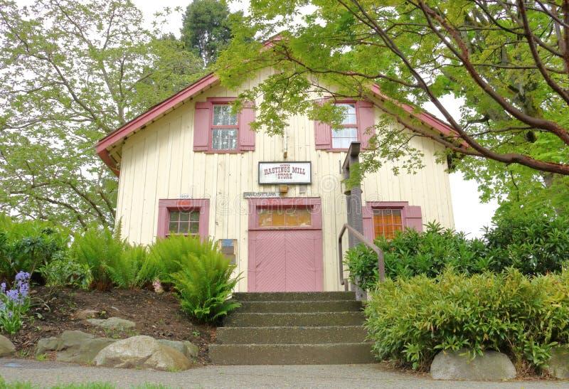 Tienda del molino del ` s Hastings de Vancouver imagen de archivo libre de regalías