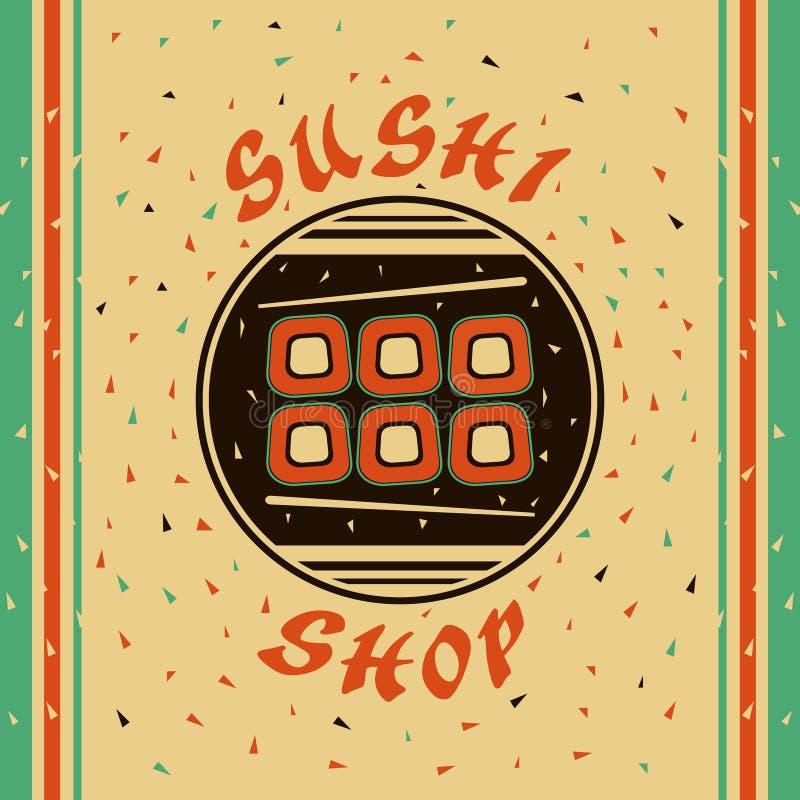 Tienda del sushi libre illustration
