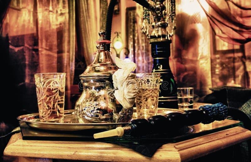 Tienda del té en Granada céntrica fotografía de archivo libre de regalías