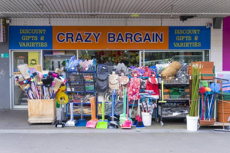 Tienda loca del negocio imagen de archivo libre de regalías
