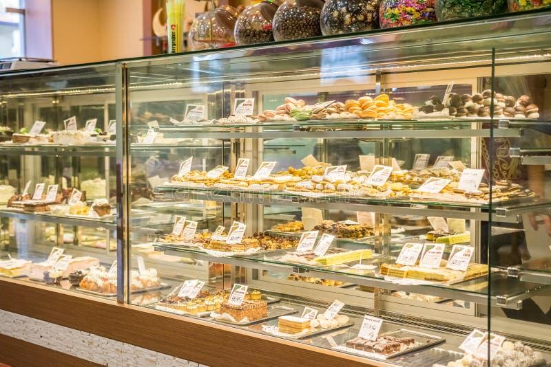 Tienda turca del caramelo fotografía de archivo libre de regalías