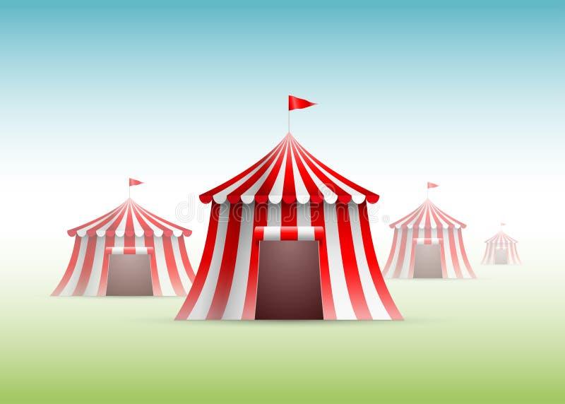 Tiendas de circo libre illustration
