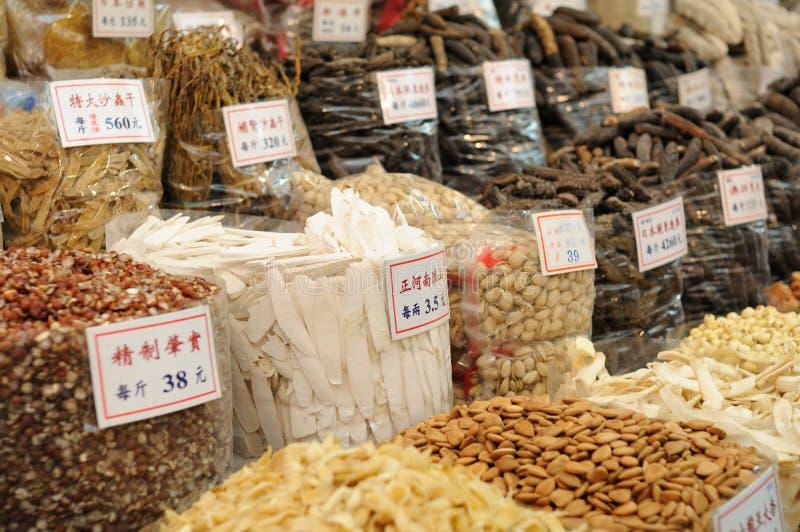 Tiendas de comestibles chinas imagenes de archivo