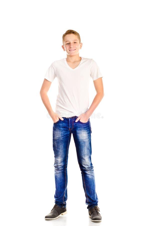Tiener stock afbeelding