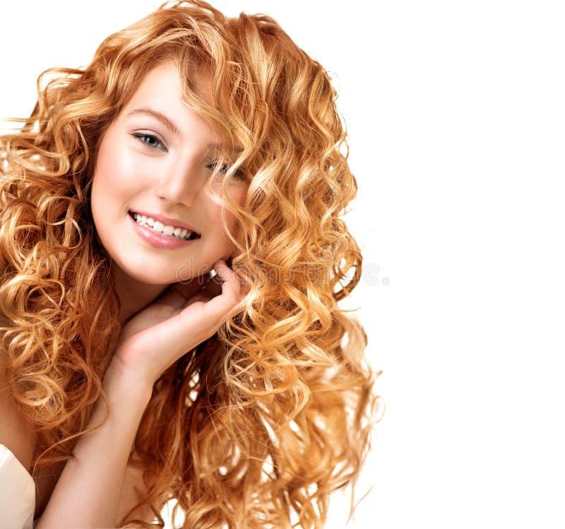 Tiener modelmeisjesportret royalty-vrije stock afbeelding