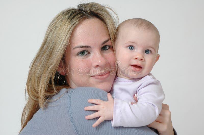 Tiener Moeder royalty-vrije stock foto's