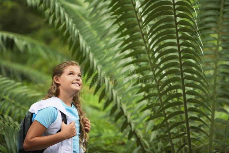 Tiener op een Schoolreis stock foto's