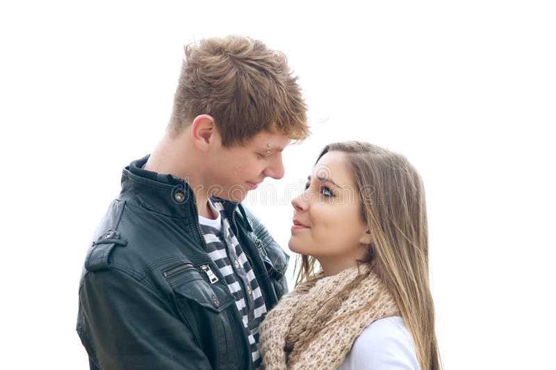 Paar in liefde royalty-vrije stock foto's