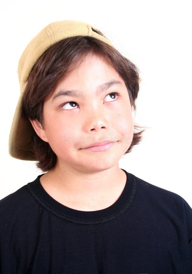 Tiener (reeks) stock foto's