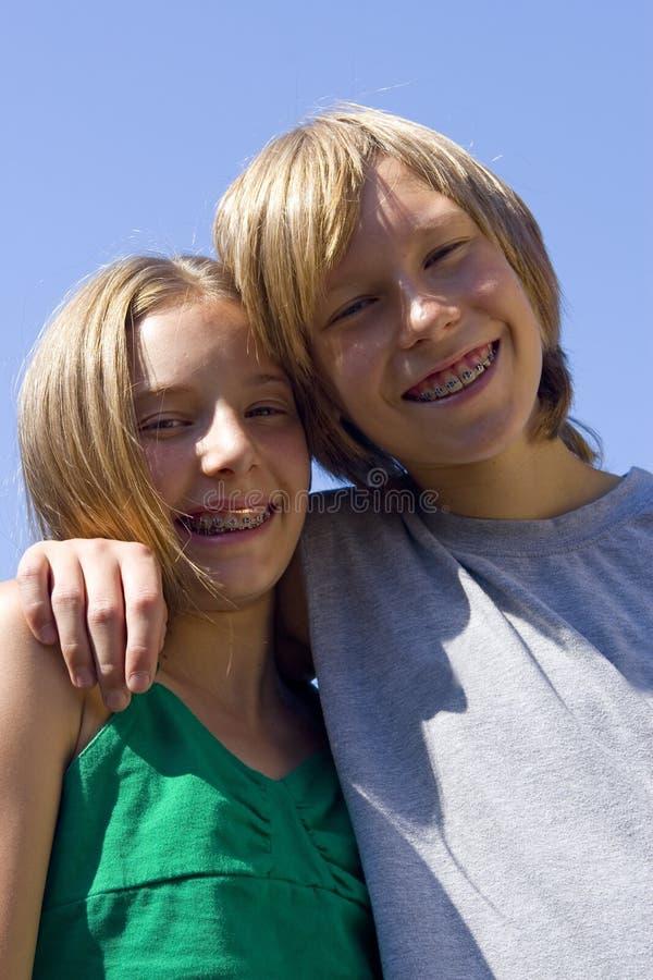 tienerjaren stock foto's